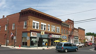 Fremont, Indiana - Downtown Fremont