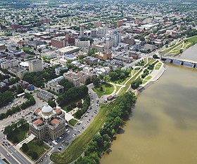 Downtown Wilkes Barre along the Susquehanna River.jpg