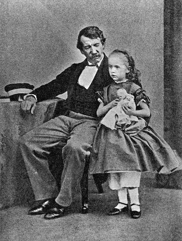 Livingstone and his Daughter