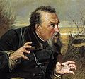 Dr Kuvshinnikova cropped from a painting The Hunters at Rest by Vasily Perov aka Wassilij Grigorjewitsch Perow.jpg