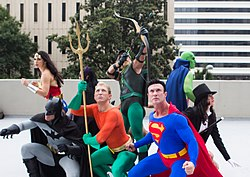 Dragon Con 2013 - Justice League (9672482224).jpg