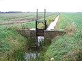 Drainage sluice, Newborough Fen, Peterborough - geograph.org.uk - 51859.jpg