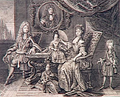 Drawing of the family of the Grand Dauphin by Arnoult Nicolas.png
