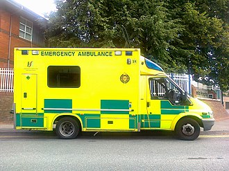 HSE National Ambulance Service - Image: Dublin Ambulance
