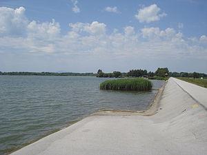 Lake Dubrava - Lake Dubrava - western part