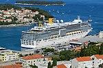 Dubrovnik Cruise Ship dock Costa Deliziosa.jpg