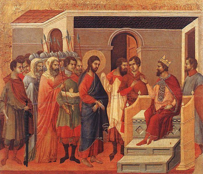 File:Duccio di Buoninsegna - Christ Before Herod - WGA06804.jpg