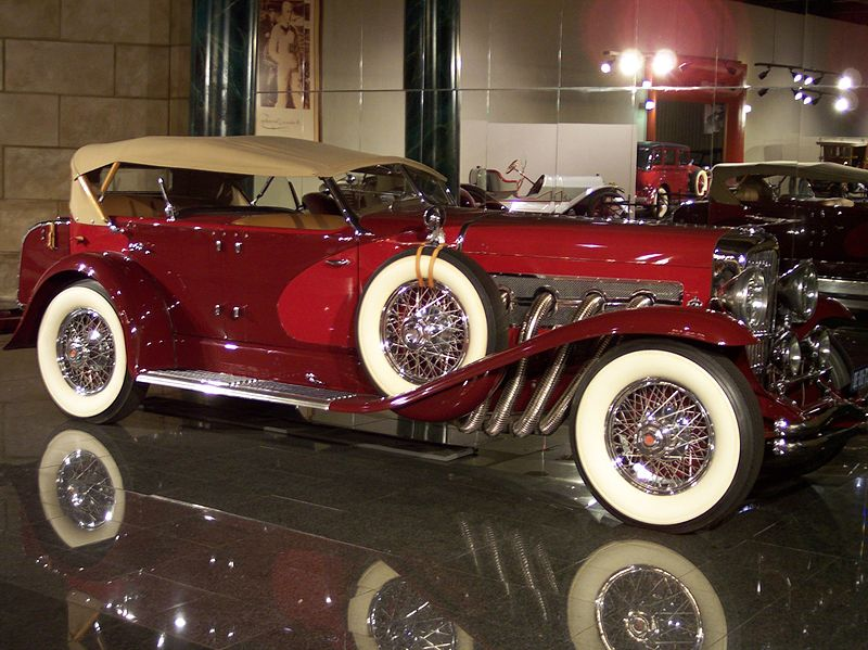 800Px Duesenberg Convertible SJ LA Grand Dual Cowl Phaeton 1935