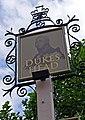 Dukes Head (2) - sign, 57 High Street - geograph.org.uk - 2134818.jpg