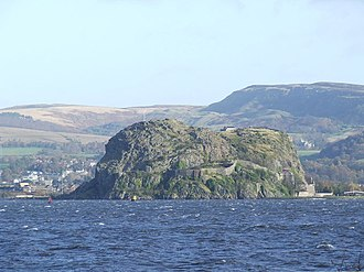 Ímar - Dumbarton Rock (Alt Clut), captured by Ímar and Amlaíb after a four-month siege in 870