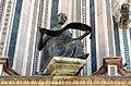 Duomo di orvieto, facciata, simboli degli evangelisti di lorenzo maitani, angelo di s. mattei.JPG