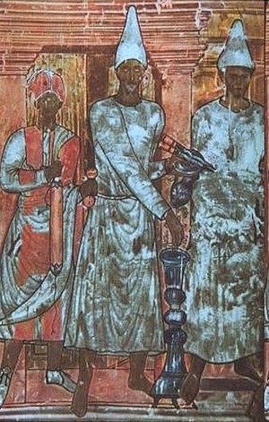 Parthian art - Image: Dura Europos fresco Sacrifice of Conon