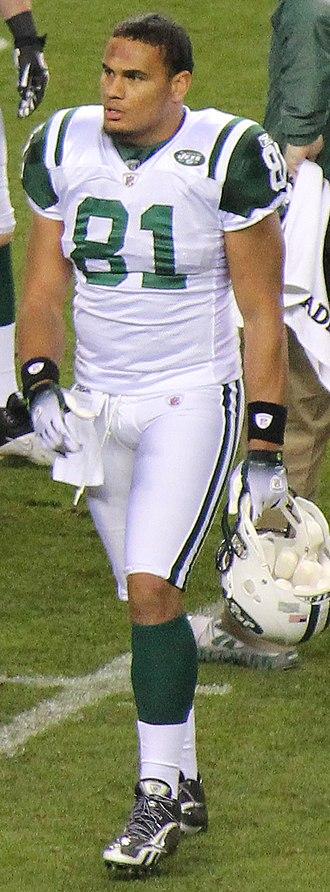 Dustin Keller - Keller with the New York Jets in the 2011