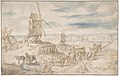 Dutch Landscape with Windmills MET DP801181.jpg