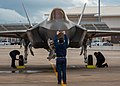 Dutch jet touches down at Luke AFB, the first for the Emerald Knights 02.jpg