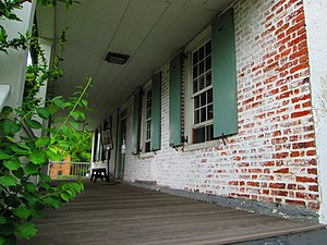 Dyckman House - Image: Dyckman House front porch