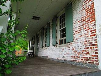 Dyckman House - Image: Dyckman House front porch