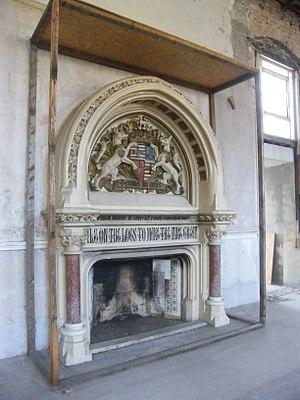 The Granville Hotel, Ramsgate - Image: E.W Pugin Fireplace