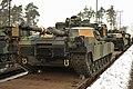 EAS M1A2s arrive in Grafenwoehr (12234859926).jpg