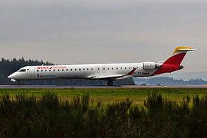 Air Nostrum - Air Nostrum Bombardier CRJ900 with the new livery