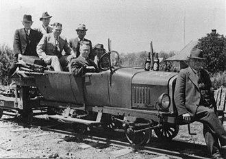 Magnet Tramway - Ford Model T railmotor