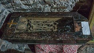Iyoas I - The bones of Mentewab, Iyasu II, and Iyoas I, in Kuskwam (Gondar)