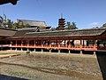 East corridor and Gojunoto Tower of Itsukushima Shrine.jpg