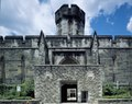 Eastern State Penitentiary is a former American prison located at 2027 Fairmount Avenue between Corinthian Avenue and North 22nd Street in the Fairmount section of Philadelphia, Pennsylvania LCCN2011631576.tif