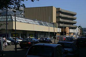 Ebbw Vale - Ebbw Vale town centre