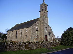 Eccles, Scottish Borders - Image: Eccles Kirk