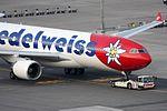 Edelweiss Air Airbus A330-223 HB-IQI (21384185325).jpg