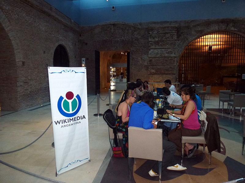 Editatón en el Museo del Bicentenario