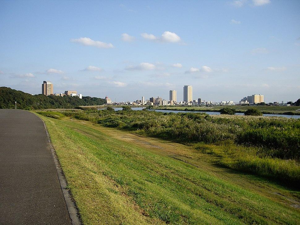 Edo river near Ichikawa
