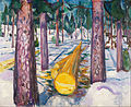 Edvard Munch - The Yellow Log - Google Art Project.jpg