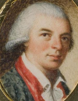 Edward Savage (artist) - Self-portrait, c. 1791