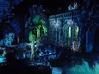 Haunted Castle (Efteling) attraction haunted house at Efteling Theme Park, The Netherland