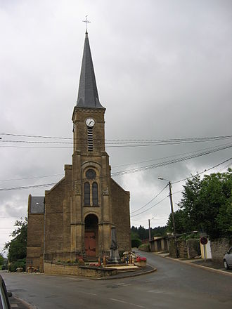 Angecourt - The Church of Saint Médard