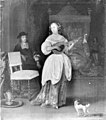 Eglon van der Neer - A Woman Playing the Mandolin - KMSsp612 - Statens Museum for Kunst.jpg