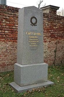 Ehrengrab am Wiener Zentralfriedhof (Quelle: Wikimedia)