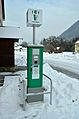 Electric vehicle charging station in St. Pankraz, Upper Austria.jpg