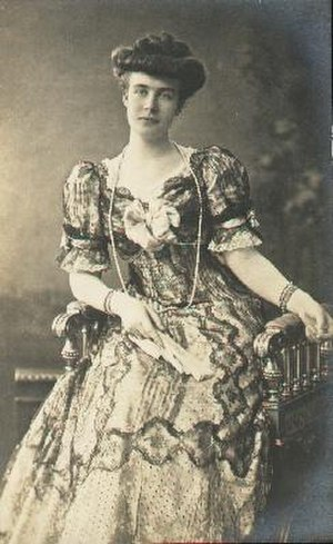 Princess Elisabeth of Anhalt - Elisabeth, 1880.