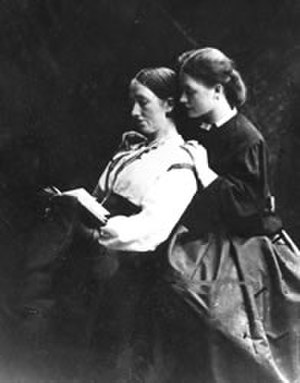 Terry family - Sarah Terry with her daughter Ellen, circa 1860