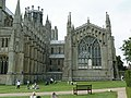 Ely Cathedral - the E end of the Lady Chapel (begun 1320).JPG