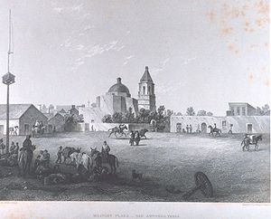 Cathedral of San Fernando - A view of San Fernando in the 1800s