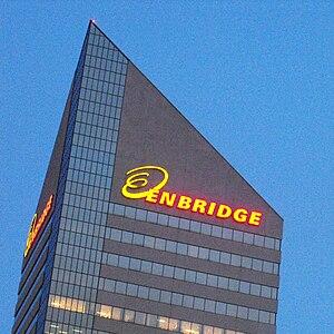 English: Enbridge Building, downtown Edmonton,...