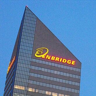 Canadian petroleum companies - Enbridge building in Edmonton, Alberta