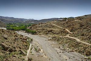 Urak Valley - Image: End of Urak Valley