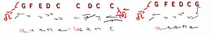 Hagiopolitan Octoechos - Image: Enechemata (ἦχος τέταρτος, ἦχος πλάγιος τοῦ τετάρτου)