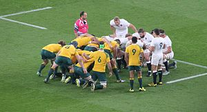 2015 Rugby World Cup - Australia beat England 33–13 at Twickenham Stadium in London.