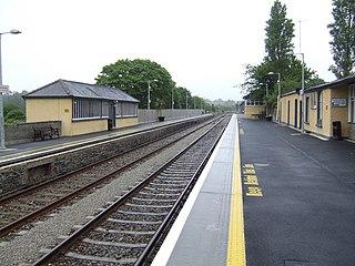 Enniscorthy railway station Railway station in Ireland